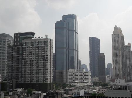 An overcast day in Bangkok