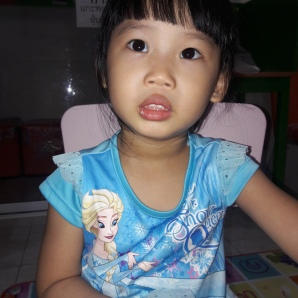Eiffel, a girl i was tutoring. One of the most special little ones i have ever met.