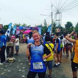 My first 10km race