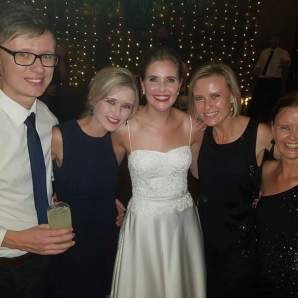 With my siblings at my cousins wedding - special moments