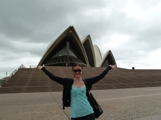 First time in Sydney